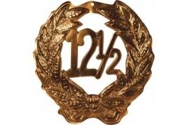 Huldekrans 12½ Brons