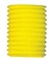Lampion kokermodel geel