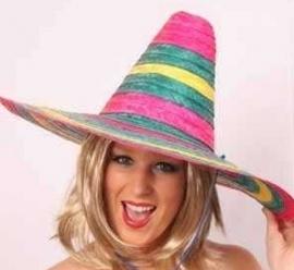 Sombrero gekleurd
