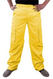 Afritsbroek geel