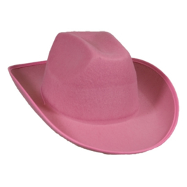 Cowboyhoed Dallas roze