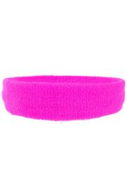 Hoofd/zweetband roze