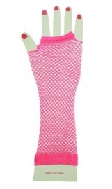 Nethandschoen pink