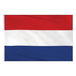 Nederlandse vlag groot