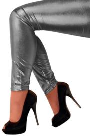 Legging donker Zilver