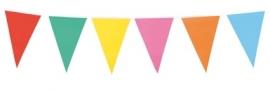 Vlaggenlijn assortie kleuren