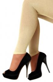 legging wit goud