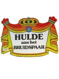 Huldeschild Bruidspaar