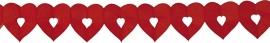 Slinger hartjes rood