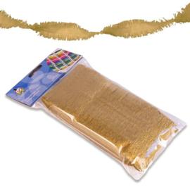 Crêpe slinger goud