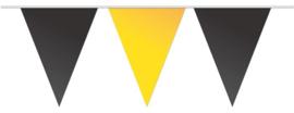 Vlaggenlijn geel zwart