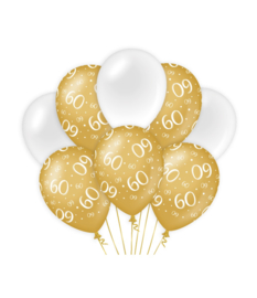 Gold/White 60 jaar