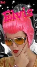 Elvis bril zilver