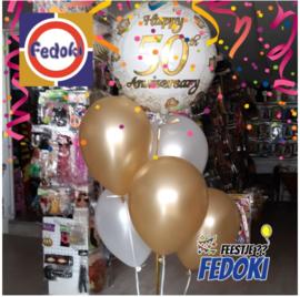 Ballonnentros gevuld met helium