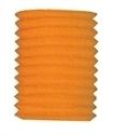Lampion kokermodel oranje