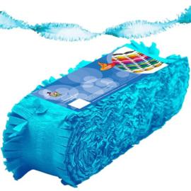 Crêpe slinger babyblauw