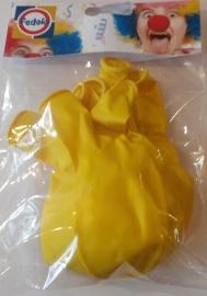 Ballon geel metallic