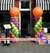 Ballonnenzuil  4 kleuren