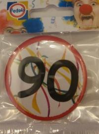 Button 90 jaar