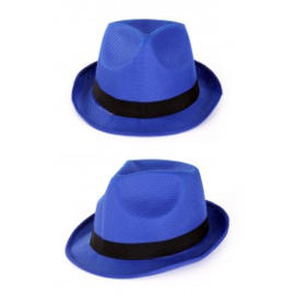 Gleufhoed populair blauw
