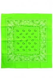 Zakdoek bandana groen