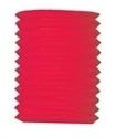 Lampion kokermodel rood