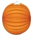 Lampion rondmodel oranje