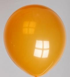Ballonnen oranje per 100 stuks