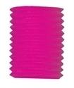 Lampion kokermodel roze