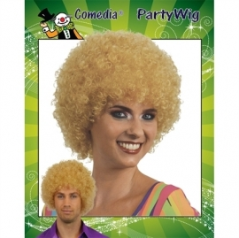 Krulpruik  blond