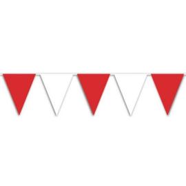 Vlaggenlijn rood wit