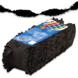 Crêpe slinger zwart