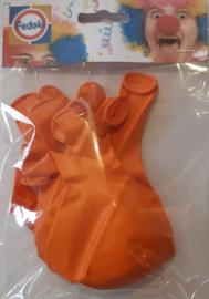 Ballon oranje metallic
