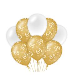 Gold/White 65 jaar