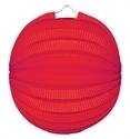 Lampion rondmodel rood