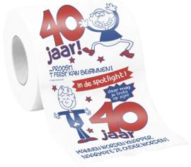 WC rol 40 man