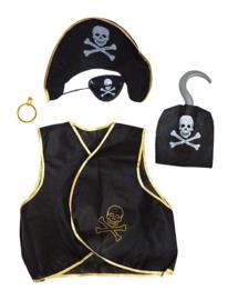 Piratenset 5 delig