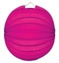 Lampion rondmodel roze