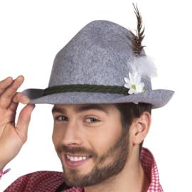 Tirolerhoed grijs