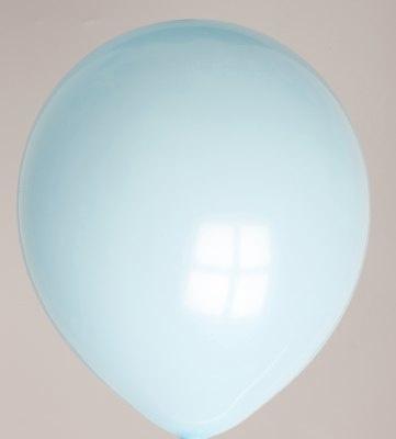 Ballonnen lichtblauw verpakt per 100