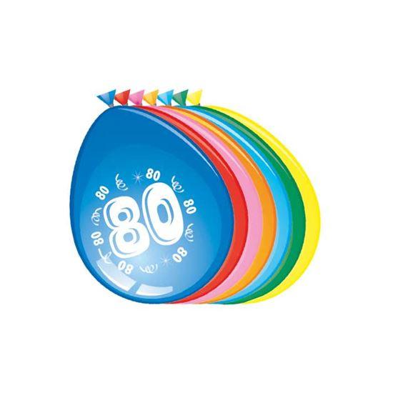 Leeftijd ballonnen 80