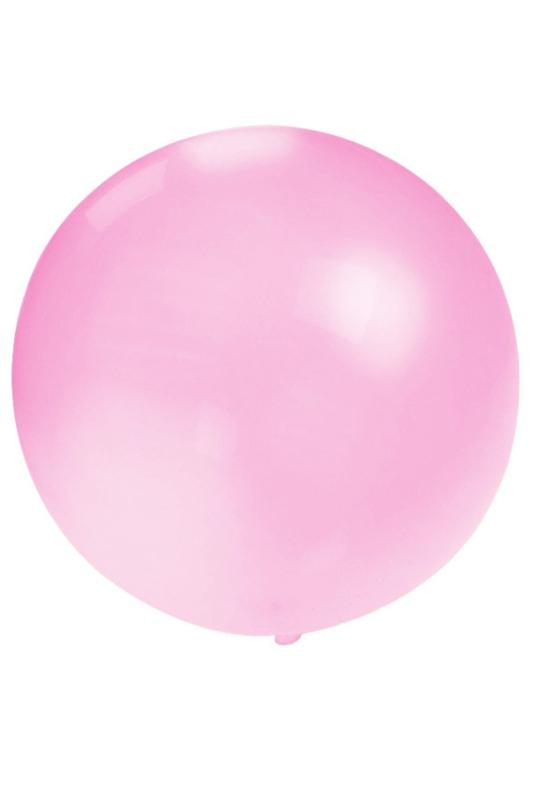 Grote roze ballon