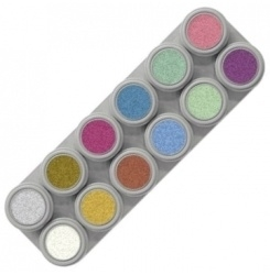 Grimas Water Make Up Pearl Palette 12kl