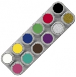 Grimas Water Make Up A Palette 12kl