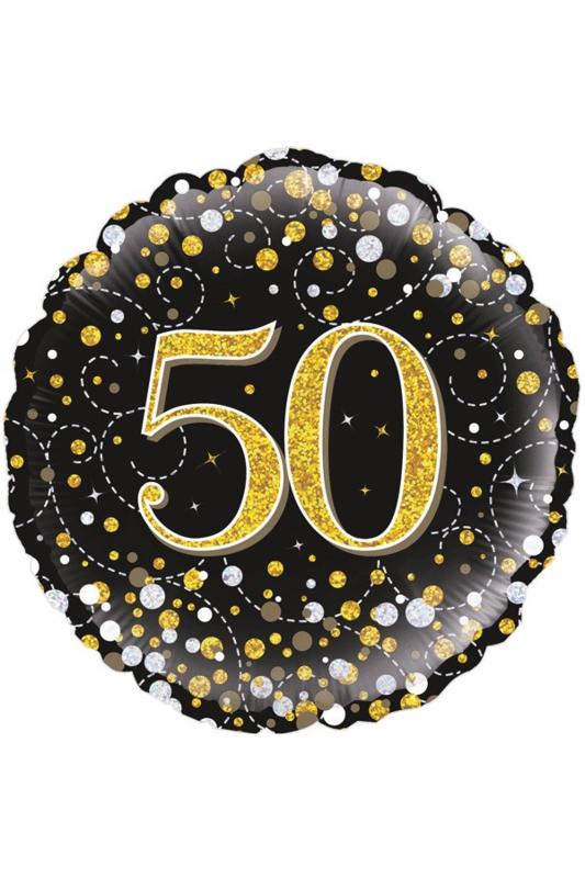 Folieballon 50 jaar
