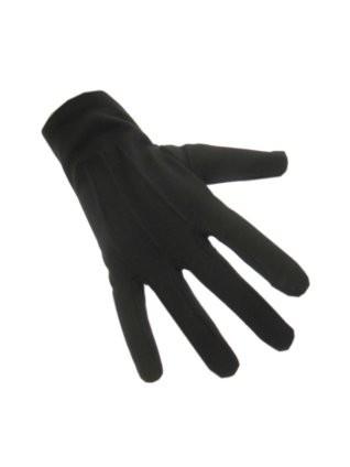 Handschoen katoen kort zwart
