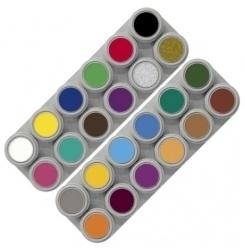 Grimas Water Make Up A+B Palette 24kl