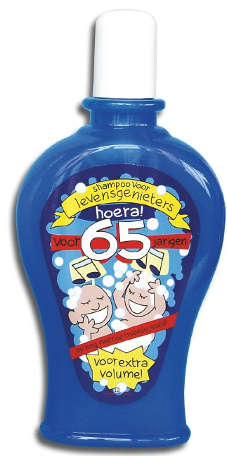 Shampoo 65 jaar man / vrouw