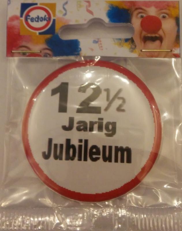Button 12½ jubileum