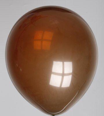 Ballonnen bruin verpakt per 100